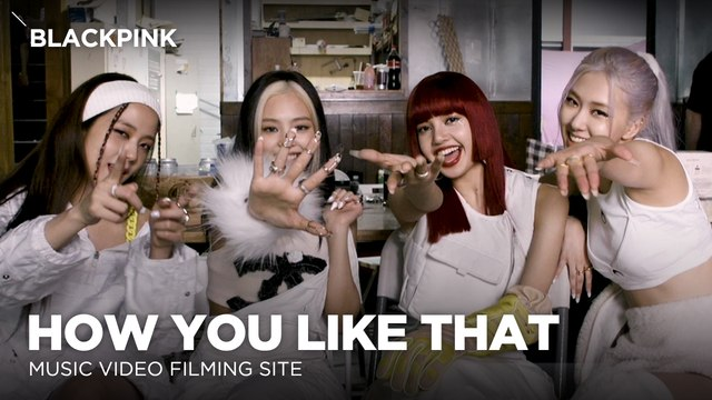 [Pops in Seoul] How You Like That!‍ BLACKPINK(블랙핑크)'s MV Shooting Sketch