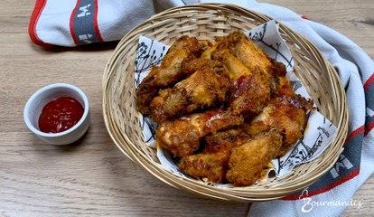 Recette : ailes de poulet marinées