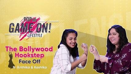 Bollywood Hookstep Challenge ft Kashika & Krithika - POPxo Game On
