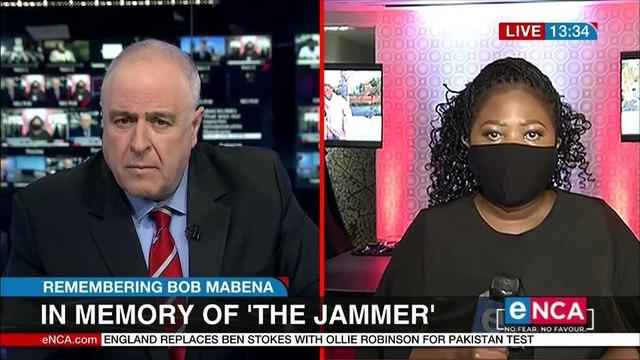 In memory of 'The Jammer' Bob Mabena
