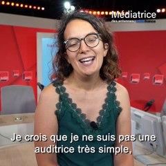 Élodie Font et les auditeurs