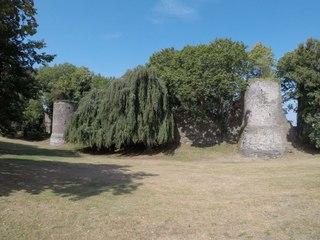 Les tours Marvis et Saint-Jean dégagées