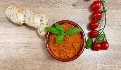 Recette : Tapenade aux tomates séchées