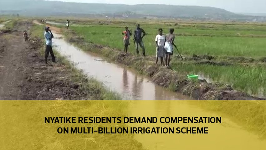 Nyatike residents demand compensation on multi-billion irrigation scheme