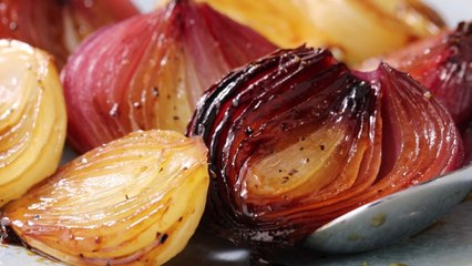 Honey Glazed Onions