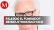 Murió Enrique Robinson Bours, fundador de Bachoco