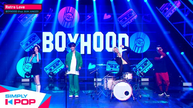 [Simply K-Pop] BOYHOOD(남동현) (Feat. BUM JUN(2Z)) - Retro Love(레트로 러브) _ Ep.427