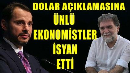 Berat Albayrak'ın Ahmet Hakan'a 'Dolarla mı maaş alıyorsunuz' sözleri ekonomistleri ayağa kaldırdı