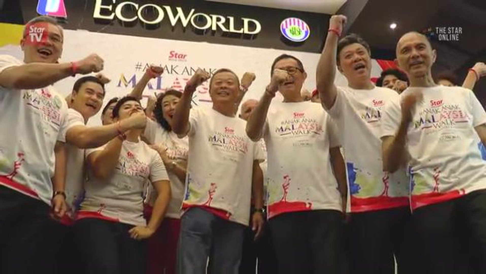 Star Media Group and EcoWorld kickstart #AnakAnakMalaysiaWalk 2016