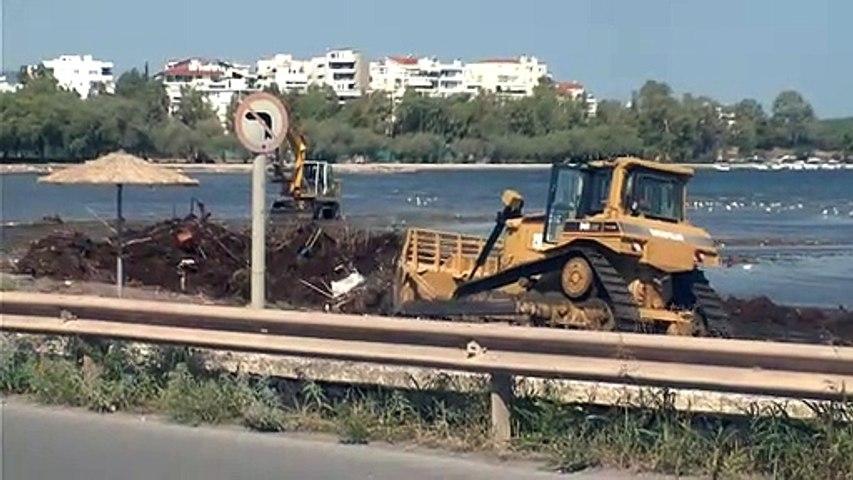 Καθαρισμός παραλιών από σκουπίδια και φερτά υλικά