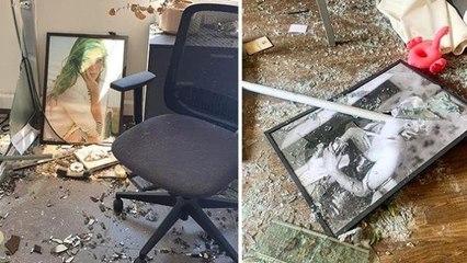 """مكاتب """"جمالكِ"""" تستكمل صنع الجمال من فوق ركامها، بعد انفجار بيروت"""