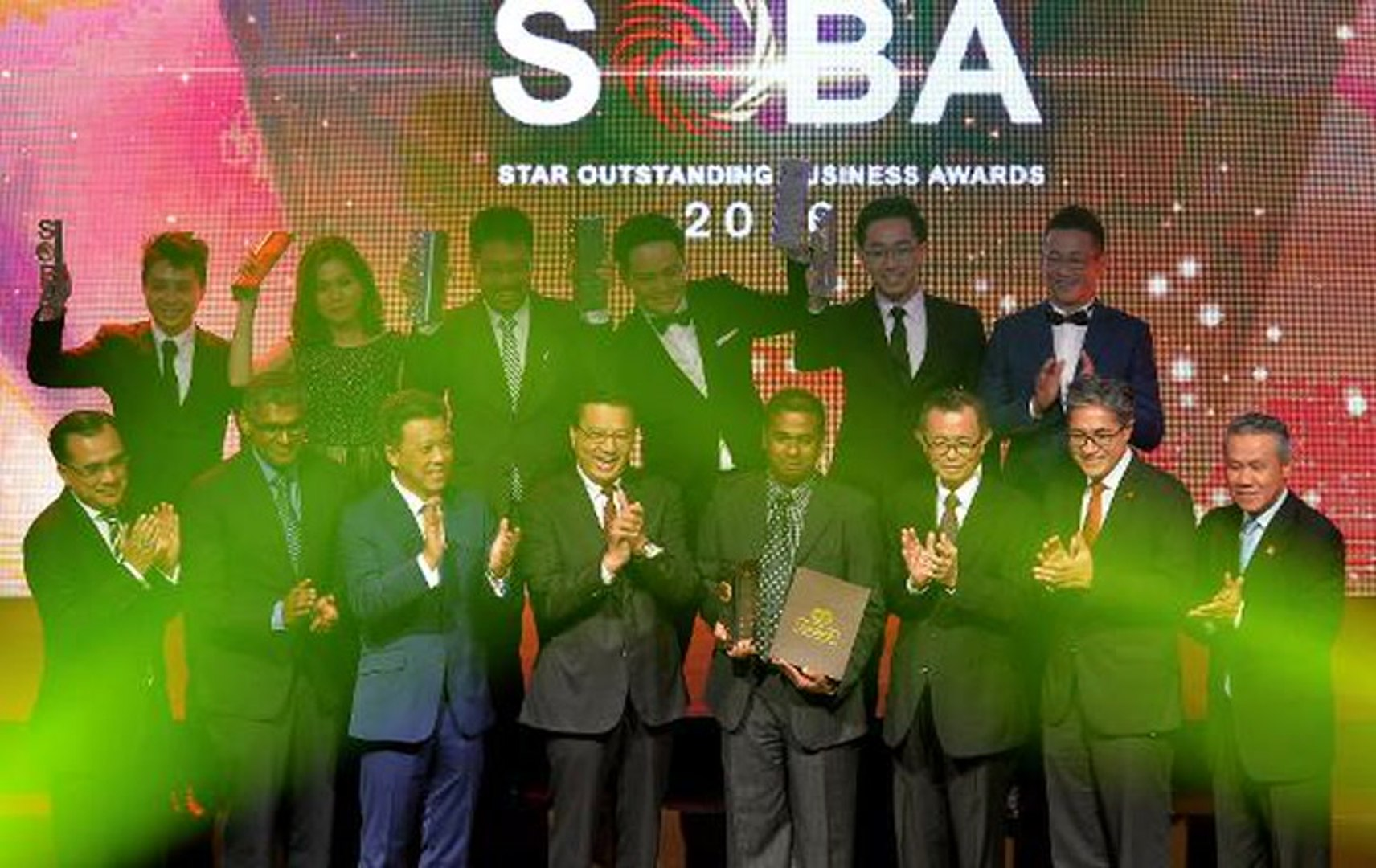 Exemplary SMEs recognised at SOBA 2016