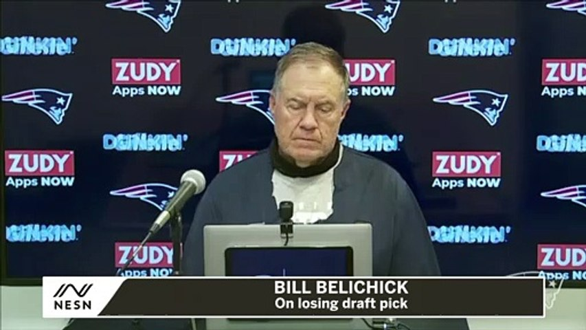 Bill Belichick On Losing Draft Pick Due To Bengals Video Incident