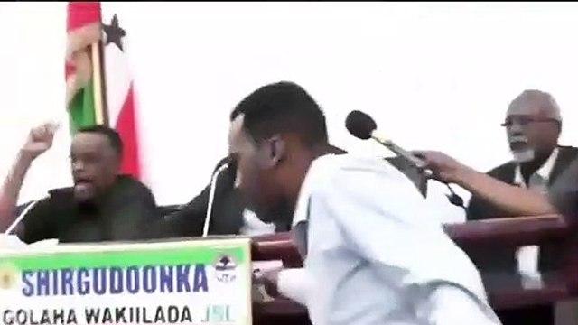 Somalie : Bagarre entre le président de la République et le président de l'Assemblée nationale