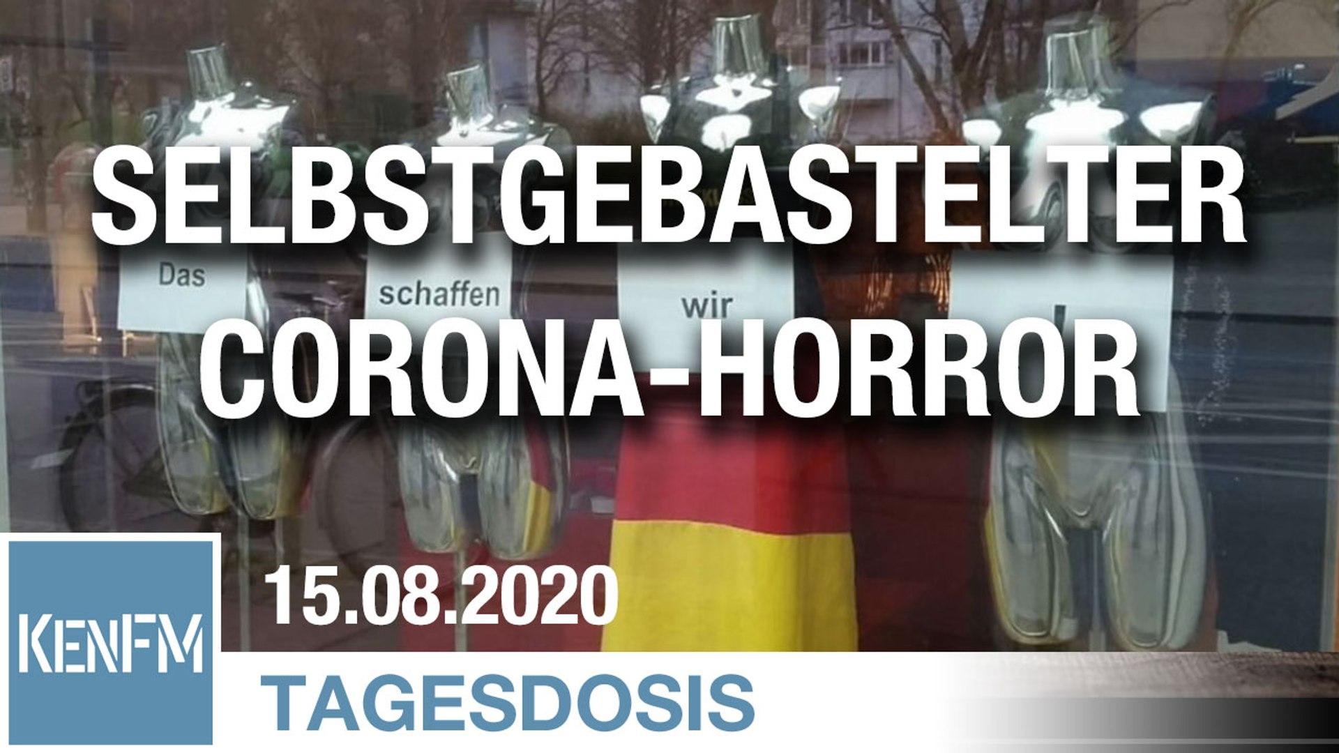 Selbstgebastelter Corona-Horror | Von Hermann Ploppa