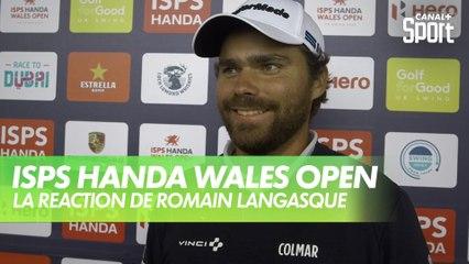 Golf - Wales Open : La réaction de Romain Langasque