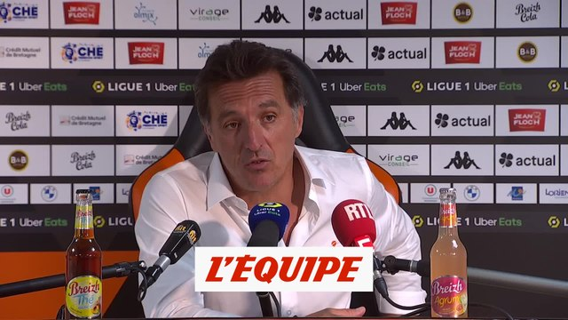 Pélissier : «Mordre dedans à pleines dents» - Foot - L1 - Lorient