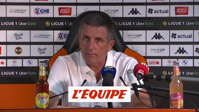 Laurey «Une équipe qui a fait des cadeaux» - Foot - L1 - Strasbourg
