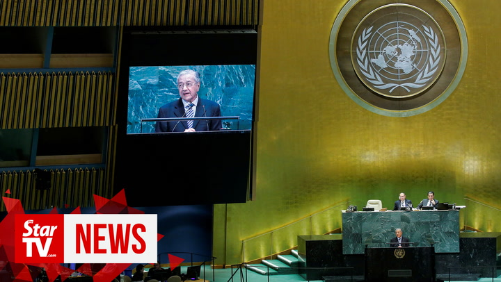 Dr M: Support the UN even though it has failed to banish wars