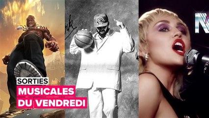 Sorties musicales du vendredi : Drake, Burna Boy et Miley Cyrus