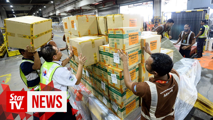 Coronavirus: #OpsHarapan ships medical supplies to Wuhan