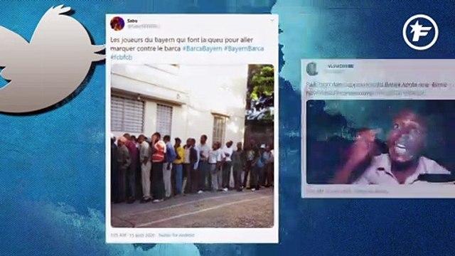 La soirée cauchemardesque du Barça vue par les réseaux sociaux