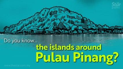 Do you know ... the islands around Pulau Pinang?