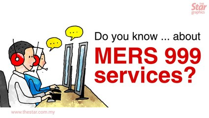Do you know ... about MERS 999 services?