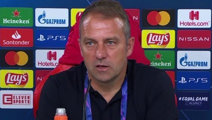 Football - Champions League - Hans-Dieter Flick press conference after Barcelona 2-8 Bayern