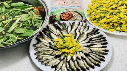 Đặc sản cá linh mùa nước nổi