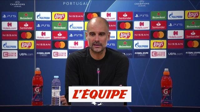 Guardiola : «Félicitations à l'OL pour cette demi-finale» - Foot - C1 - Man. City