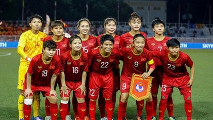 ĐT nữ Việt Nam bỏ xa Thái Lan trên BXH FIFA