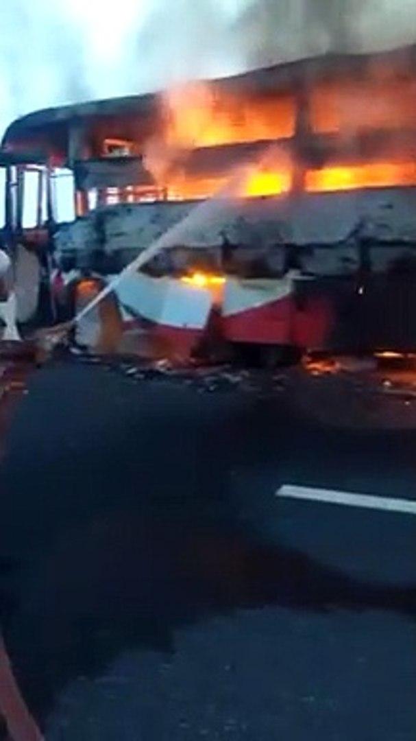 फिरोजाबाद: यात्रियों से भरी बस पुल से टकराई, एक की मौत, 3 गंभीर रूप से घायल