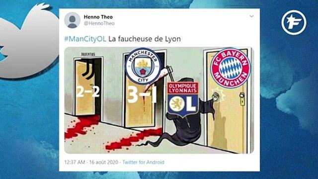 Twitter n'en revient pas de l'exploit de l'OL contre Manchester City