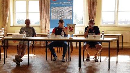 Norderstedt zieht ins Pokalfinale ein - die PK nach dem AFC-Duell