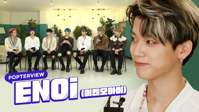 [Pops in Seoul] The seven charismatic boys! ENOi(이엔오아이)'s Interview for 'Where Are You'