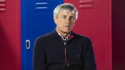 HLV Quique Setién bị Barcelona sa thải