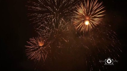 AGDE - Revivez le bouquet final du feu d'artifice du 15 août