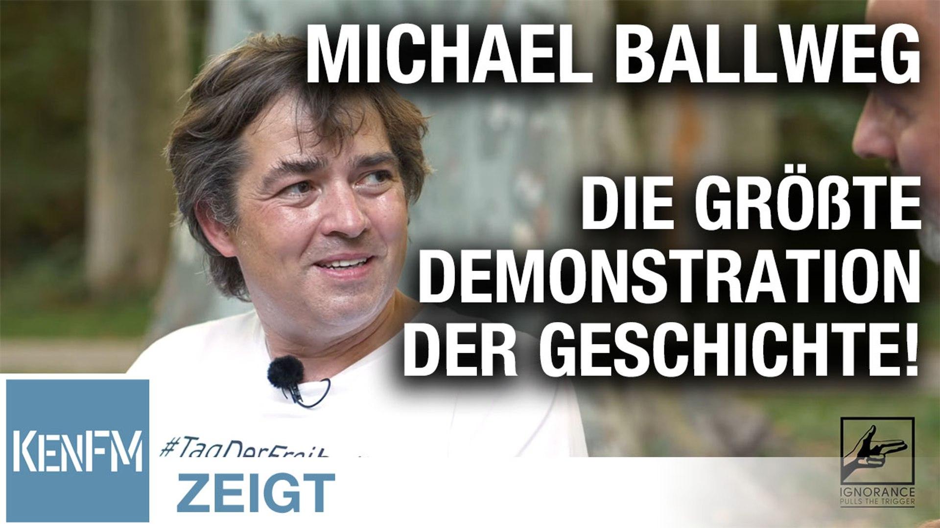 Michael Ballweg über den 29.8.2020 – Die größte Demonstration der Geschichte!