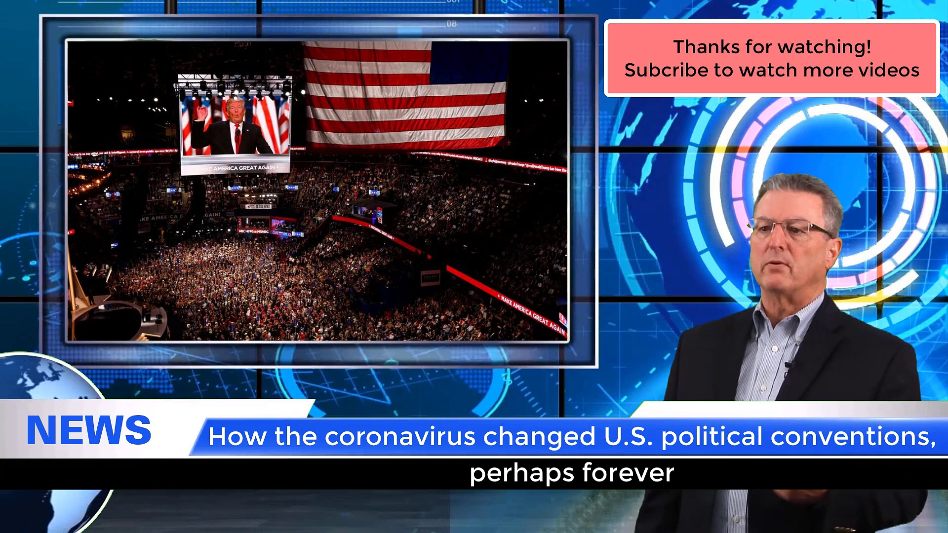 #NEWS| How the coronavirus changed U.S. political conventions, perhaps forever