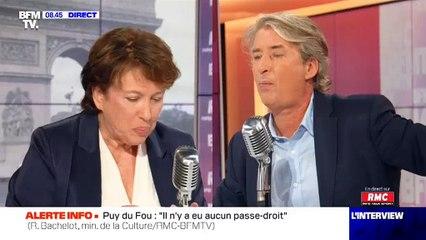 """Roselyne Bachelot répond à Jérémy Ferrari : """"Son argument est tout à fait recevable et j'y souscrirais volontiers !"""""""