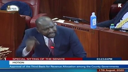 Murkomen Holds Back Tears in Passionate Rant