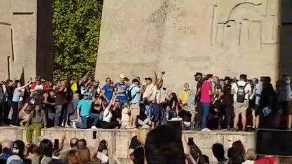 La manifestación de los que pensamos diferente con el virus en Madrid 1