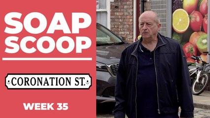 Coronation Street Soap Scoop! Geoff gets a warning