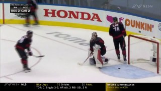 Bruins Highlight: Bruins Come All Way Back To Take Lead Vs. Hurricanes Thanks To Brad Marchand
