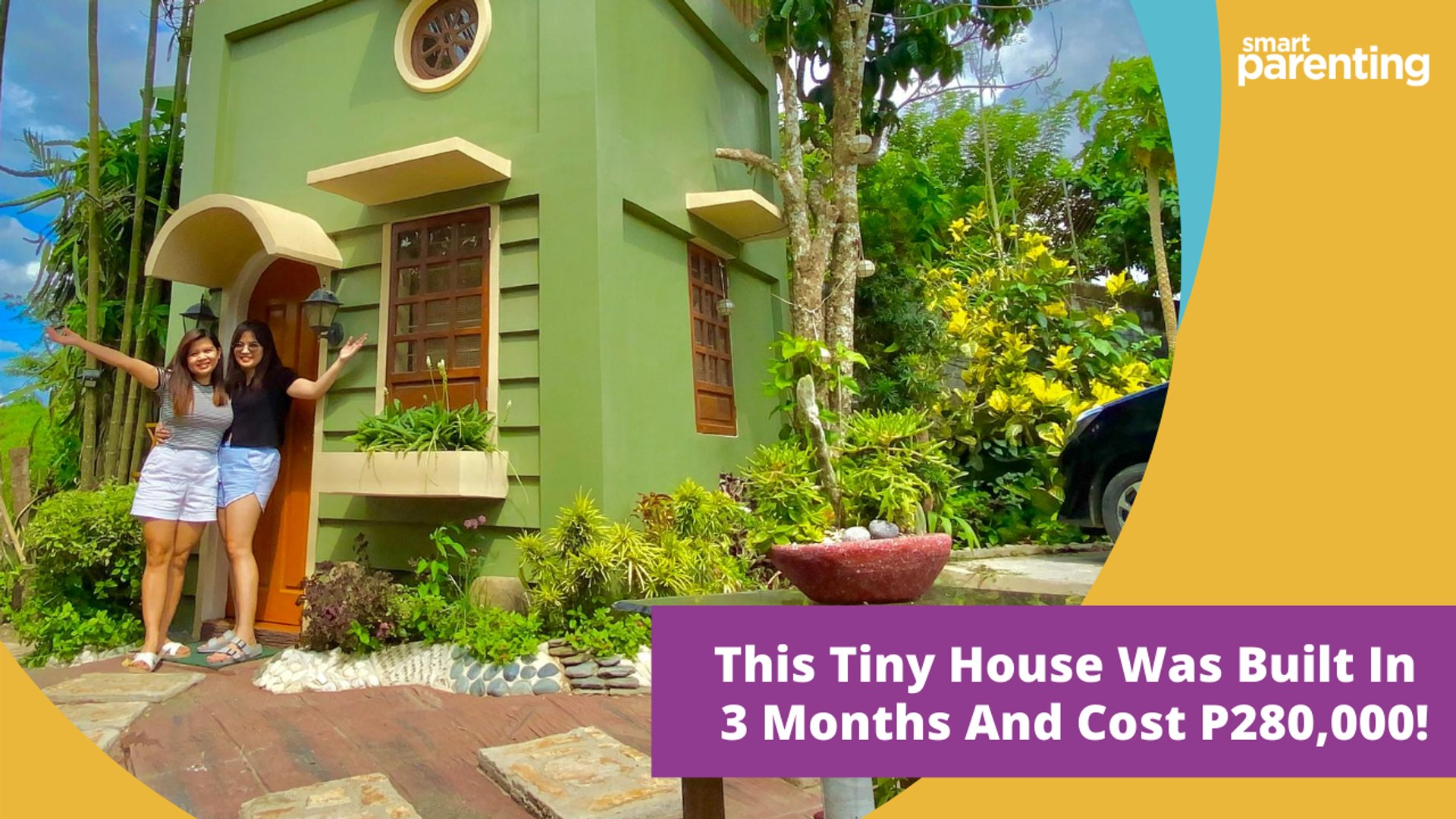 This Tiny House Was Built In 3 Months And Cost P280 000 Video Dailymotion