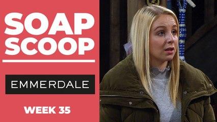 Emmerdale Soap Scoop! Belle tries to save Jamie