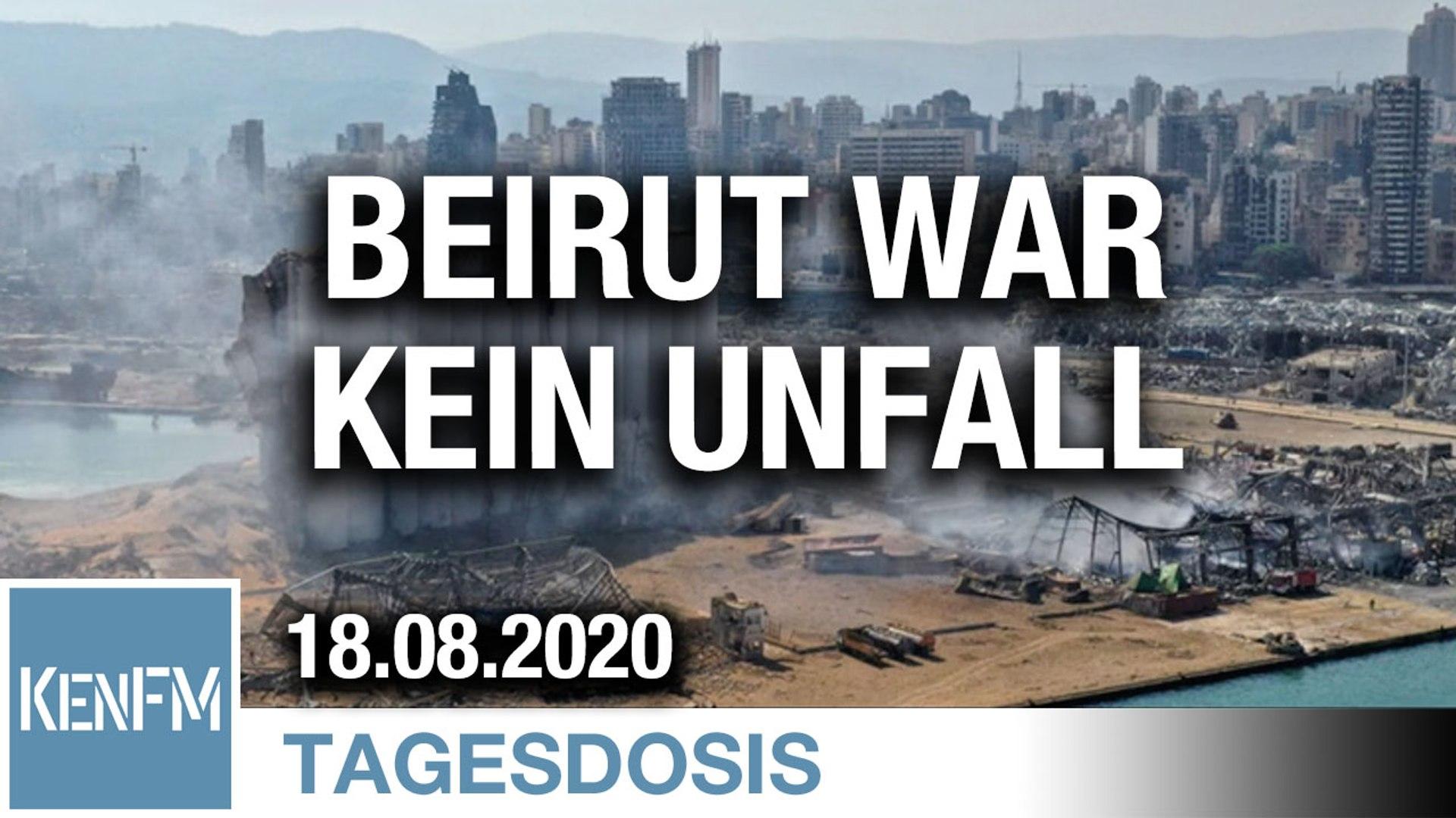 Beirut war kein Unfall | Von Dirk Pohlmann
