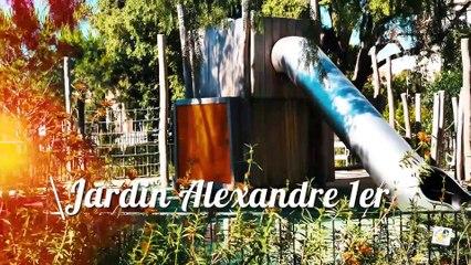Jardin Alexandre 1er à Toulon