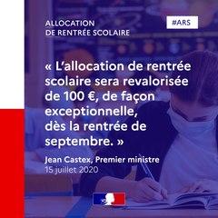 Allocation de rentrée scolaire : 100 € de plus par enfant